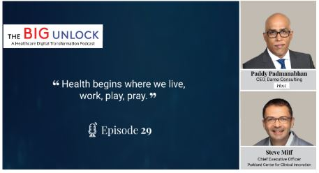 The Big Unlock Podcast interview with Steve Miff