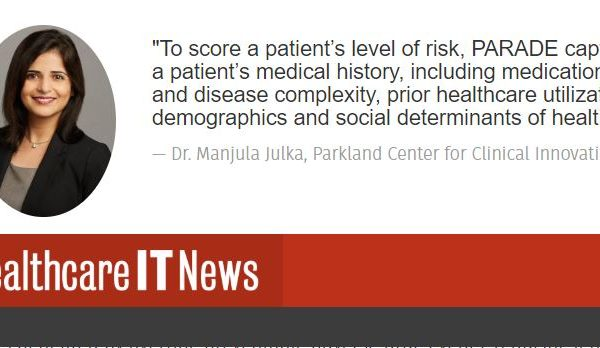 In the News: PCCI's Manjula Julka is interviewed by Healthcare IT News about preventing adverse drug events