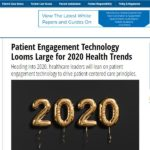 In The News: Patient Engagement HIT talks with Steve Miff about 2020 health trends