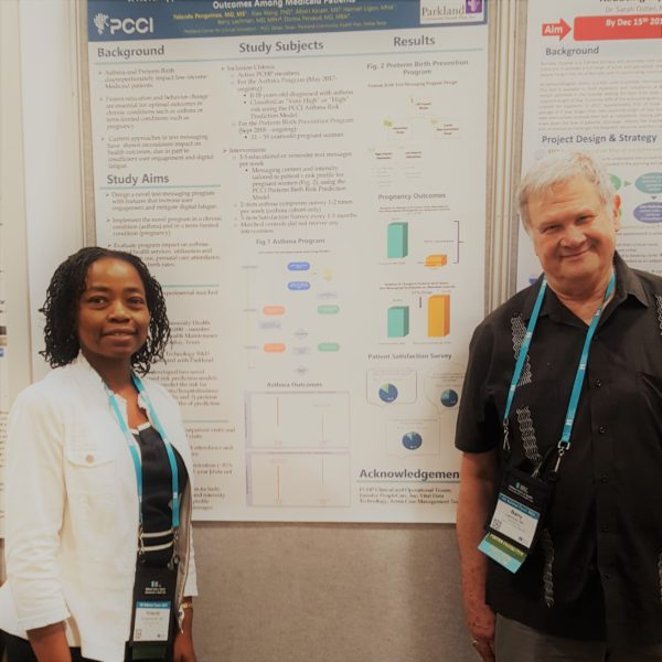 PCCI Poster Presentation: Preterm birth & asthma poster from IHI Scientific Symposium