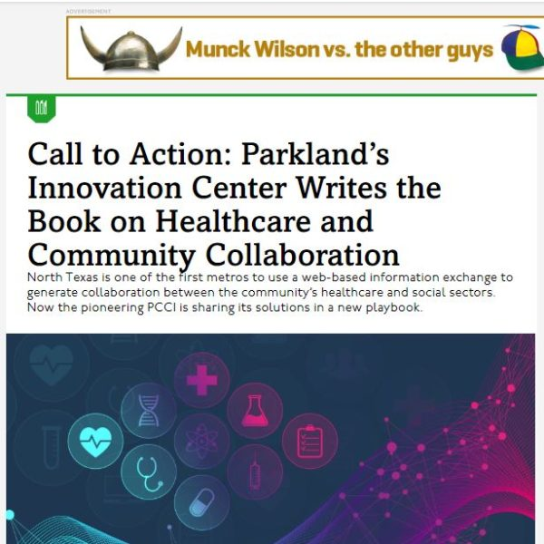 In the News: PCCI Writes the Book on Healthcare and Community Collaboration