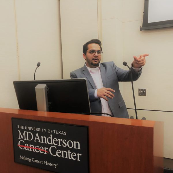 PCCI Expert Akshay Arora talks SDOH at MD Anderson