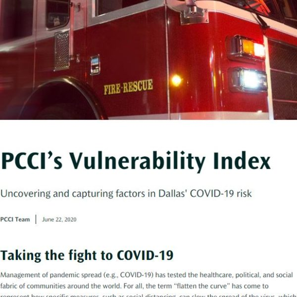 PCCI's Vulnerability Index: Taking the fight to COVID-19