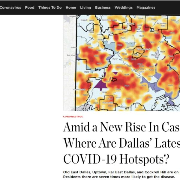 In The News: DCEO Explores PCCI's October COVID-19 Vulnerability Index